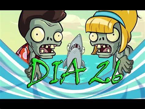 plants vs zombies 2 playa de la gran ola dia 26 big