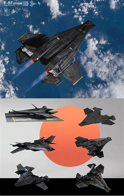 Fighter Fi Ships Concept Spaceship Sci Deviantart