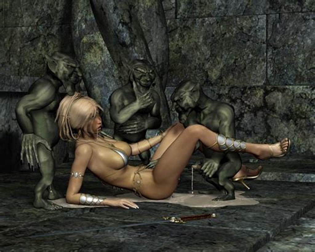 #Dirty #Elf #Chicks #Taking #On #Troll #And #Goblin #Dicks #In