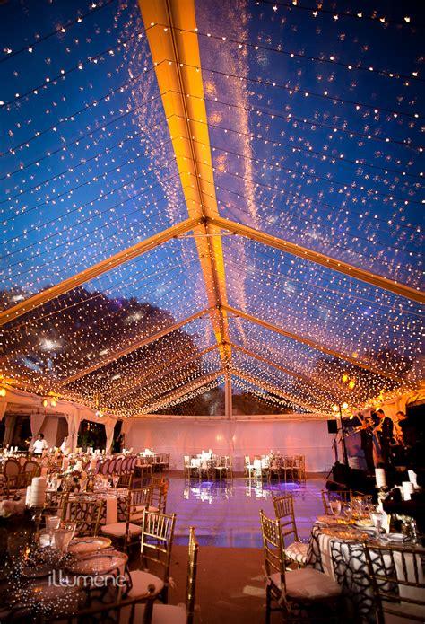 fisher island wedding  event lighting