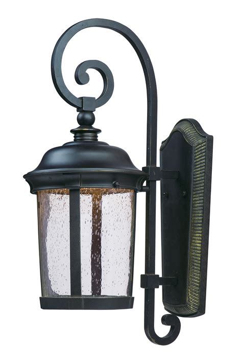 dover led outdoor wall lantern outdoor maxim lighting