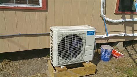 mrcool  btu diy heat pump ac  ingrams youtube