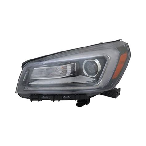 replace gmc acadia  factory halogen headlights