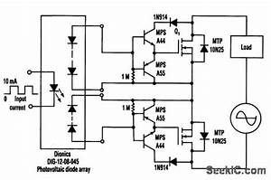 Mosfet Drive Current Booster - Analog Circuit