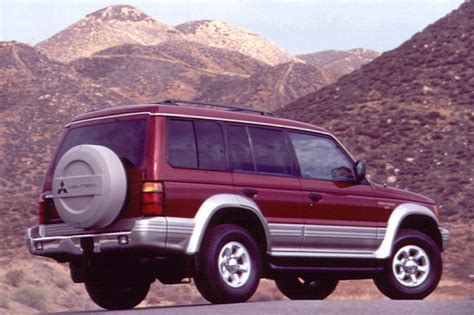 how does cars work 1992 mitsubishi montero parking system 1992 00 mitsubishi montero consumer guide auto
