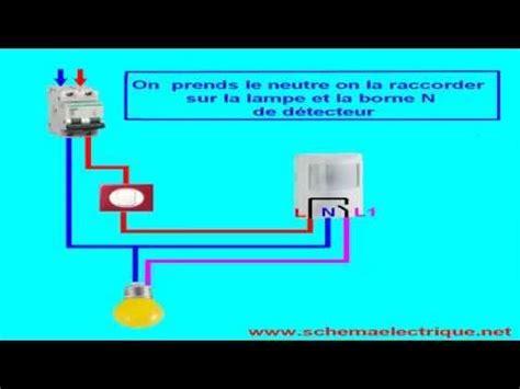 branchement le avec detecteur schema electronique detecteur de mouvement doovi
