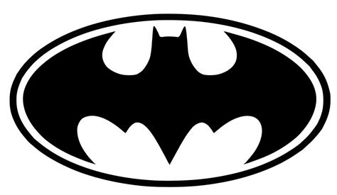 batman logo printable template  printable papercraft
