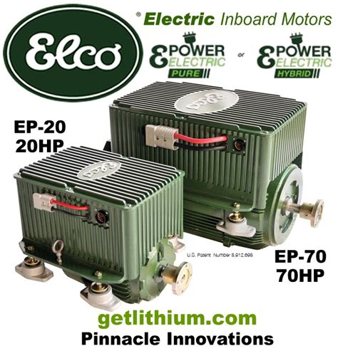 Electric Propulsion Motor by Elco Motor Yachts Complete Inboard Or Outboard Electric