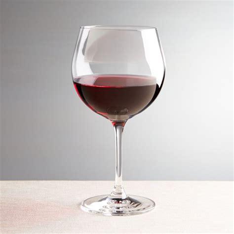 viv red wine glass reviews crate  barrel