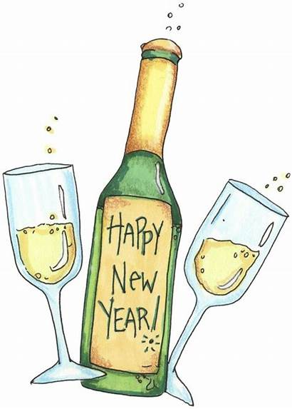 Clipart Clip Happy Cheers Toast Celebration Eve