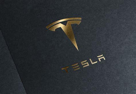 Wallpaper Tesla Logo