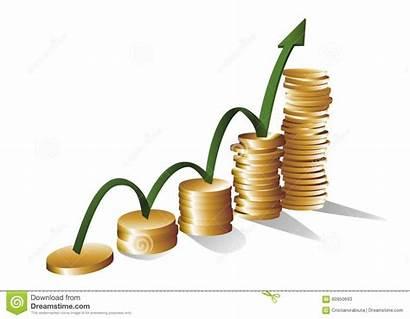 Vector Growth Money Illustration Cmyk Concept