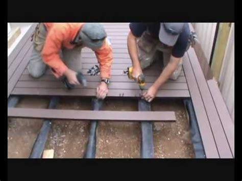 build  deck composite boards  herringbone