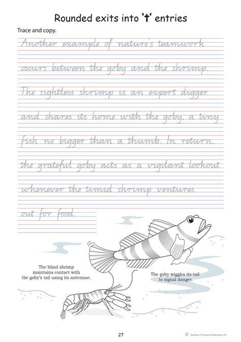 handwriting exercises  year  scripture character