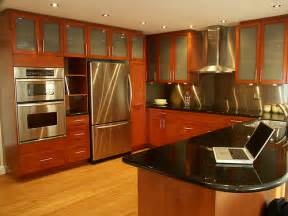 home interior design for kitchen inspiring home design stainless kitchen interior designs with hardwood floors