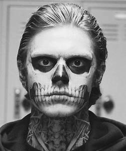Tate Langdon, halloween insp | Stage Makeup & Inspiration ...