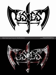 USDS - BandLogo Drawing with Axes and Blade