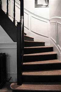 12 deco escalier qui donnent des idees escaliers en bois With peindre des marches d escalier en bois 0 escalier bois et blanc idees pour lentree et le couloir
