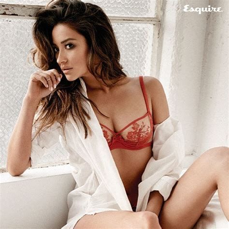 Shay Mitchell Red Lingerie Lyles Movie Files