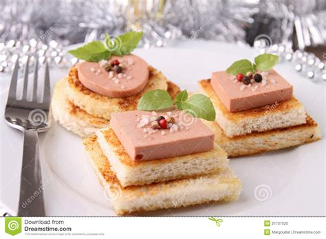 canape appetizer appetizer canapes stock photo image 21737520
