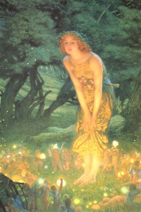 edward robert hughes fairy art
