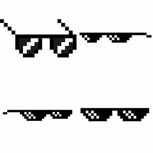 Deal With It Glasses transparent PNG images - StickPNG