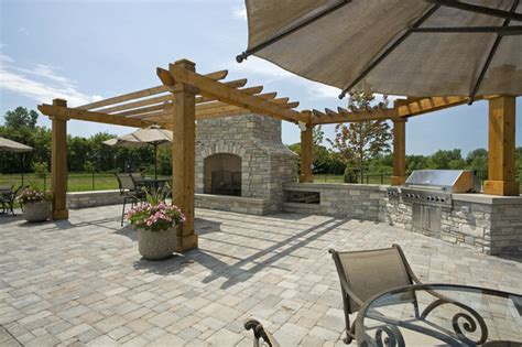 outdoor bbq area outdoor bbq area traditional landscape minneapolis by john kraemer sons