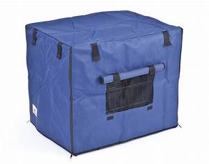 waterproof navy blue 2 door dog crate covers in stock at With waterproof dog kennel cover