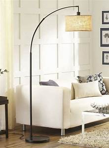 20 outstanding floor lamps for a modern look of your home With floor lamp behind bed