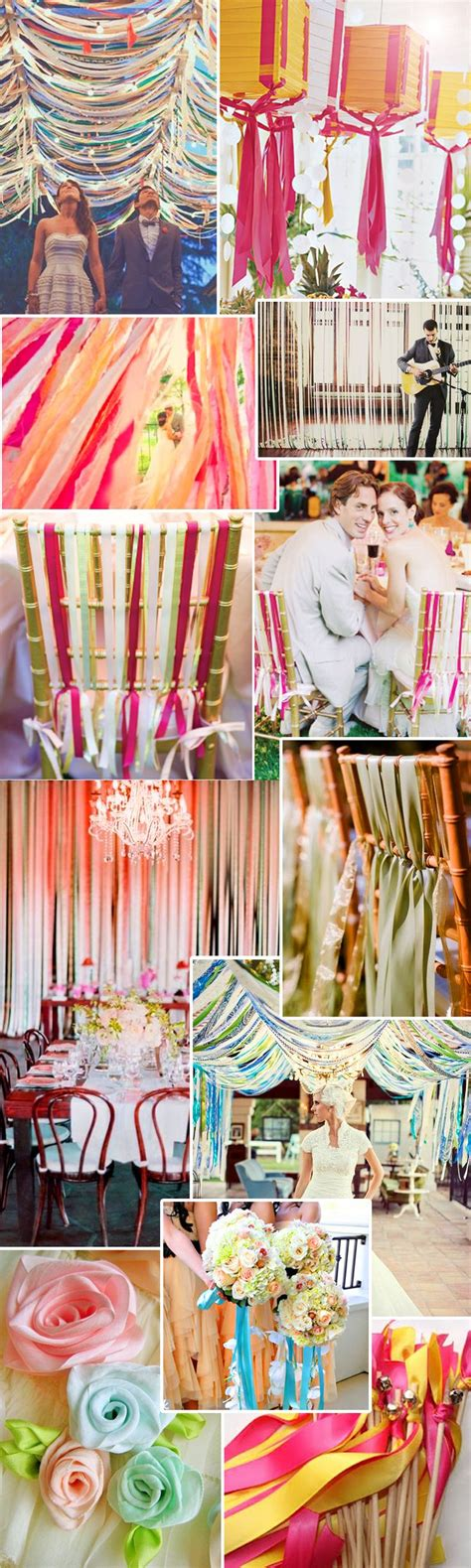 1000 Ideas About Ribbon Decorations On Pinterest White