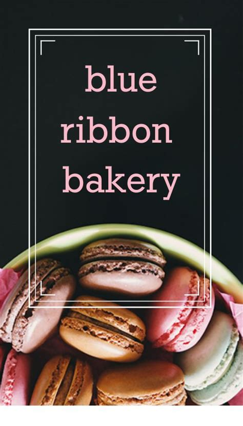 cakes   bakery business card templates
