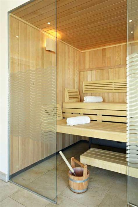 Design Sauna Glasfront by Sauna Mit Glasfront 52 Ultramoderne Designs