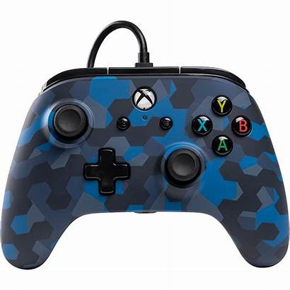 Controller Xbox Camo Wired Powera Stealth Power