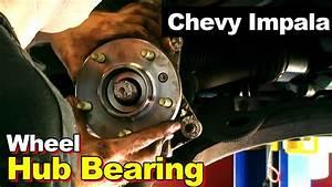 2002 Chevrolet Impala Or Monte Carlo Wheel Hub Bearing