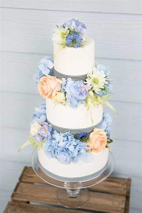 Three Cakes For A New England Inspired Wedding By