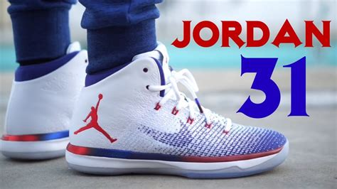 Air Jordan 31 Xxxi Usa On Feet Youtube