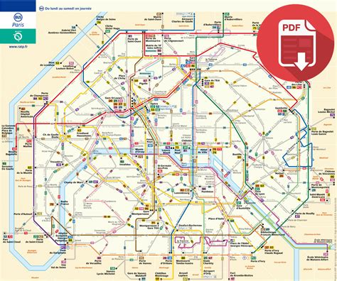 Carte Metro Pdf by Carte Du Metro Parisien Pdf My