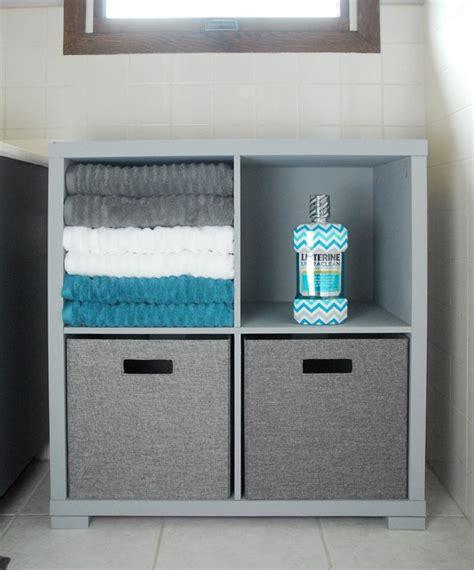 bathroom storage cabinet makeover the gunny sack