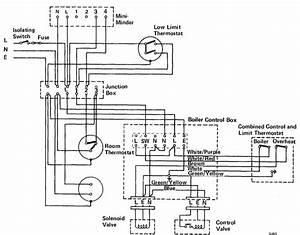 Wiring Diagram Potterton Central Heating Programmer