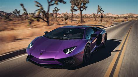 wallpaper lamborghini aventador superveloce coupe purple