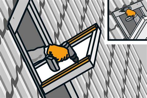 Rolladen Für Dachfenster Nachrüsten by Rollladen Nachr 252 Sten Am Dachfenster Anleitung Hornbach