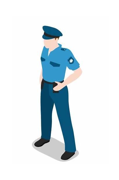 Policeman Polisi Icon Icons Avatar Gratis Orang