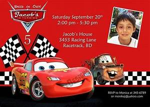 Disney Cars Invitation Cool Free Template Disney Cars Birthday Party Invitations