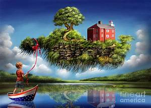 What A Wonderful World Painting by Sgn
