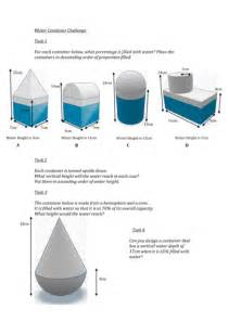 volume problem solving questions sphere cone cylinder
