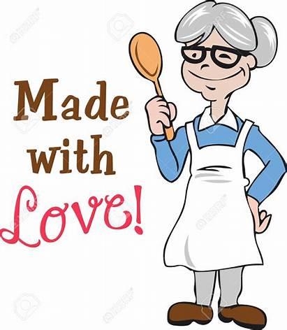 Grandma Cooking Clipart Grandmother Granny Clip Cartoon