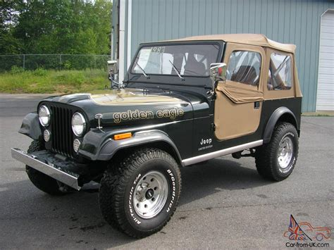 jeep eagle for sale 1983 jeep cj7 golden eagle