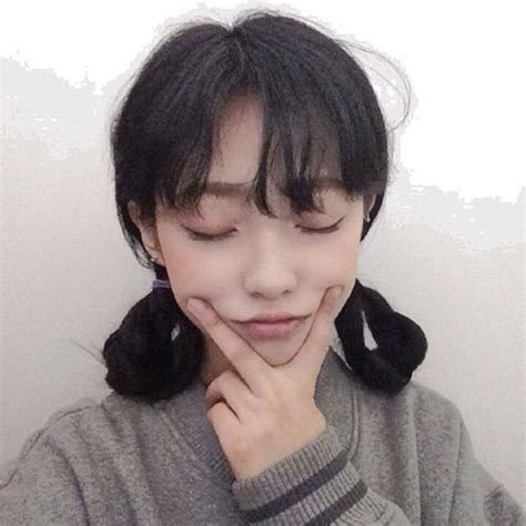 pin  sami  hair ulzzang hair styles cute woman
