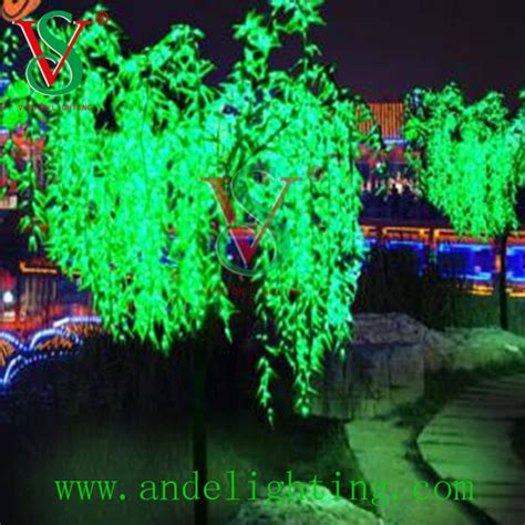 high quality led light artificial tree