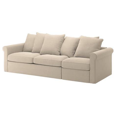groenlid sofa cama  plazas sporda natural ikea